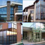 Преимущества алюминиевого стекла для наружных стен