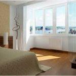 Совмещения лоджии или балкона с комнатой